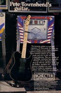 Click to view – Schecter ad – U.K.